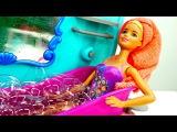 Кукла #Барби принимает Ванну с пеной и Моет голову! Мультики для Детей / Играем в  ...