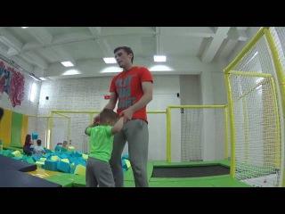 Супер веселые прыжки на батутах в Joy Jump Джой Джамп арене Минск