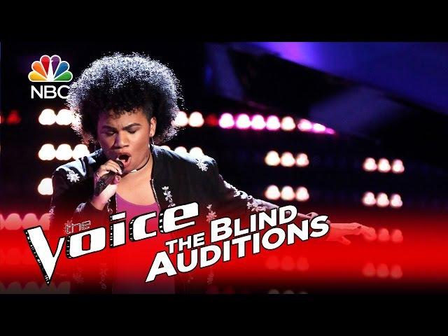 The Voice 2016 Blind Audition - Wé McDonald: