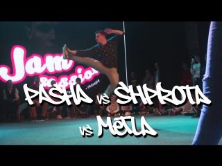JAM SESSION - TRASH BATTLE - Pasha vs Shprota vs Metla - round 2