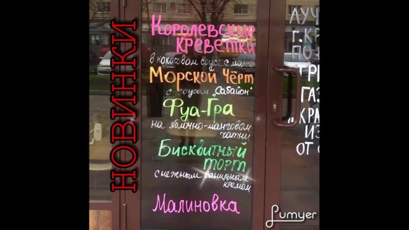 Новинки Vinsent Cafe