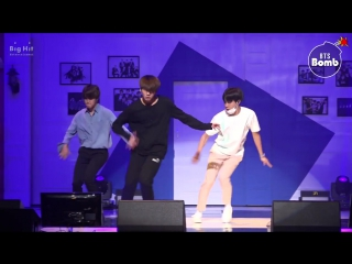 [BANGTAN BOMB] 613 BTS HOME PARTY Practice - Unit stage 삼줴이(3J)