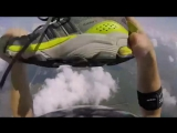 Skydiver Loses Shoe and Recovers During Skydive