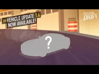 #thumbdrift 1.4 Update! With 12 new cars & coin frenzy mode to help you make mo money! (link: http://smarturl.it/DSquared) smart