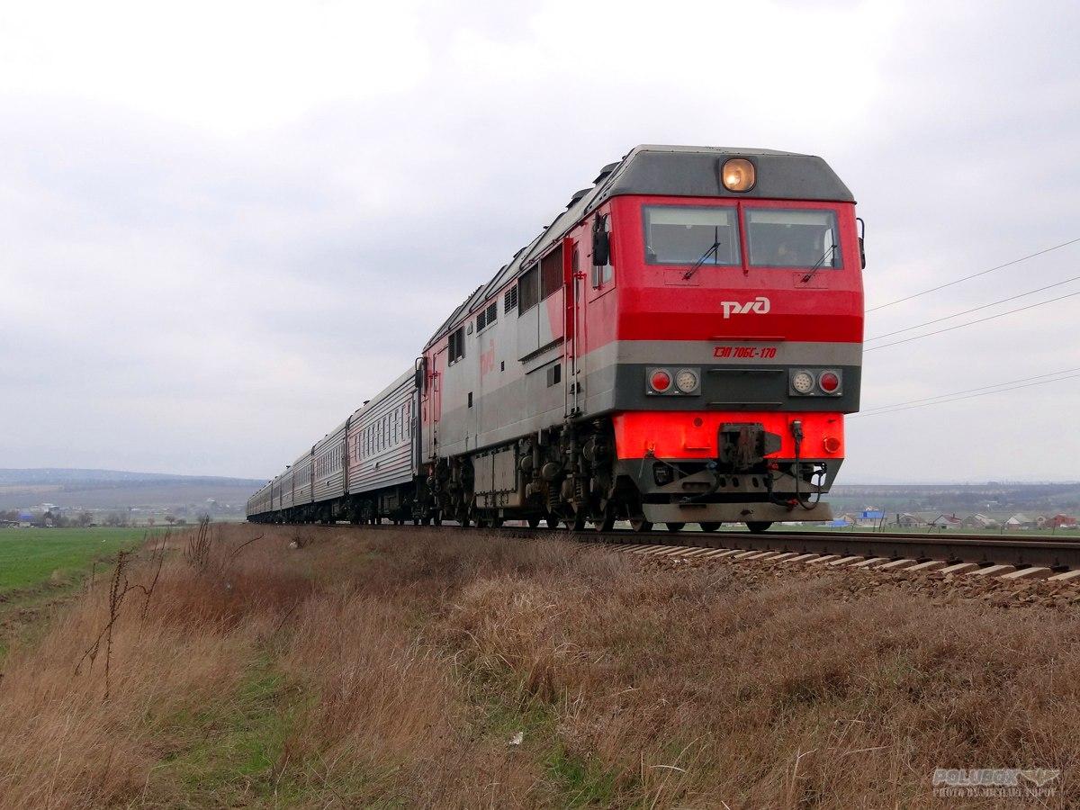 В Волгоградской области поезд «Анапа-Томск» сбил пенсионерку