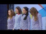 Ида Галич (Galichida) - КВН Осенний поцелуй - 2014 Первая лига Четвертая 1-8 Приветствие