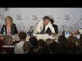 Roman Polanski and Emmanuelle Seigner at Venus In Fur Press Conference on May 25, 2013 in Cannes, France