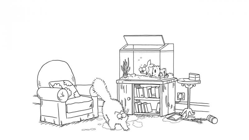 Кот Саймона / Simon's Cat - 56. Аквариум