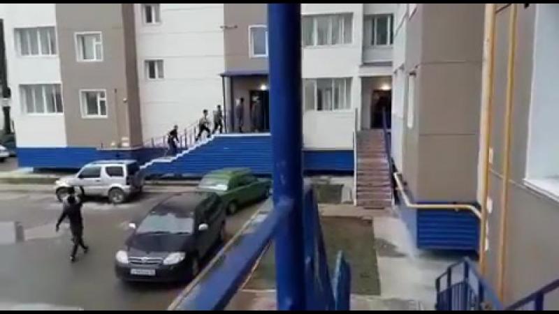 Гастарбайтеры оккупировали новостройку в центре Якутска