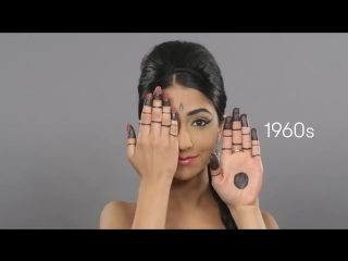 Эволюция красоты в Индии за 100 лет