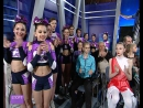 Команда Флеш на съемках программы Спорт клуб с Мариной Вангели