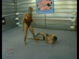 Mixed Wrestling Shelly vs Travis