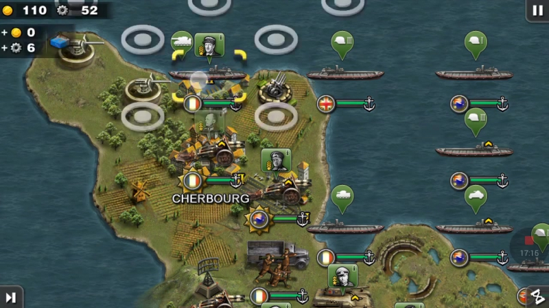 Western Front—USA,England,Frence,Canada and Greece 4 Operation Overlord—Glory o