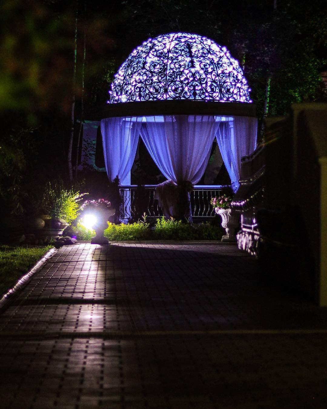 Фото идея ночью