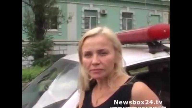 Владивосток Задержание пьяной дамы за рулём (Вывод из запоя в клинике)