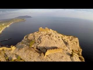 Генуэзская крепость в городе Судаке (Крым).