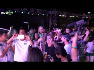 DJ Boni【2017 фестиваль музыки, Таиланд】