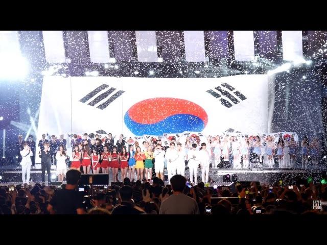 170812 비투비, 마마무, B1A4, 여자친구, SF9, 우주소녀, 아스트로 _ 엔딩 무대 _ DMZ 평화콘서트 _