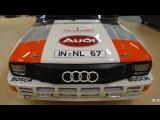 1983 Audi Quattro A2 Restoration Project