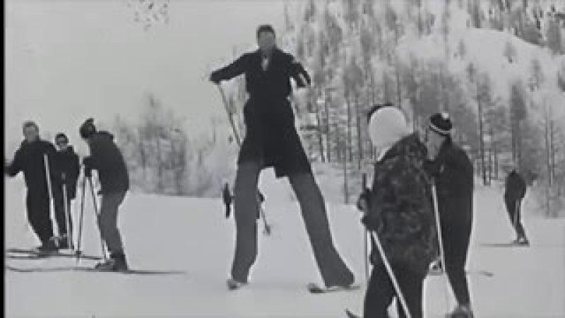 Ньюскул (горные лыжи) / The First Freeskier (YauteSavoie.fr)