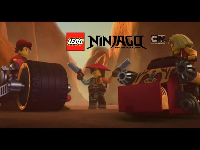 LEGO ™ Ниндзяго 6 сезон 2 серия 56 эпизод Враг Общества Номер Один смотреть мультф...