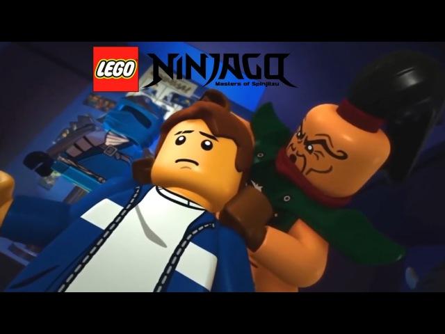 LEGO ™ Ниндзяго 6 сезон 4 серия Эпизод 58 Восхождение Злосчастья, смотреть мультфильм