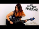 FIVE FINGER DEATH PUNCH Under And Over It GUITAR COVER by Jassy J