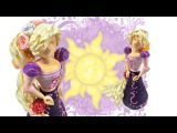 3D Paper Quilled TANGLED Rapunzel Doll