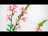 Hand Embroidery for Beginners Learn Lazy daisy, Outline Stitches HandiWorks #96