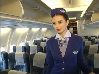 26 летнюю стюардессу из Красноярска признали самой красивой в России