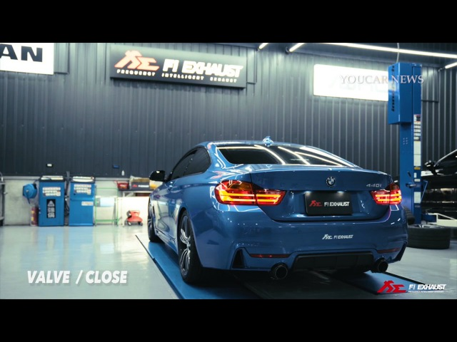 TUNED BMW 440i & X6 with FiExhaust Sound ENGINE Open&Closed l Acceleration