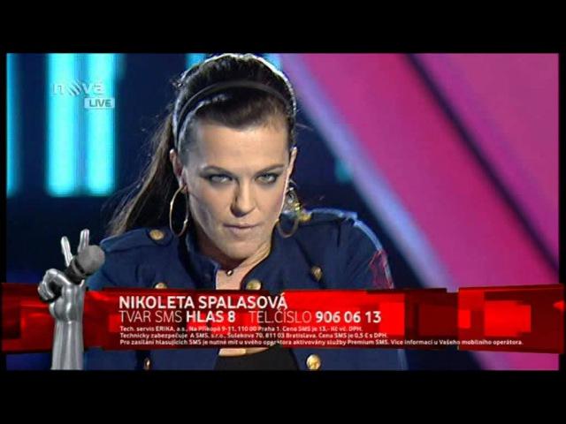 Marta Jandova Survivor Hlas Cesko Slovenska 09 04 2012 DVBS Luco