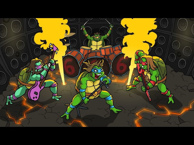 JACK BLACK MUTANT NINJA TURTLES