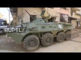 Syria SAA employ loud speakers and leaflets in attempt to pacify East Ghouta