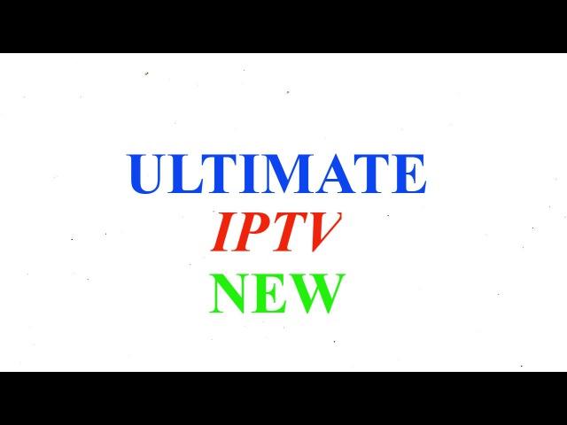 INSTALL ULTIMATE IPTV ON KODI v17 0 KRYPTON BEST M3U PLAYLIST 2017
