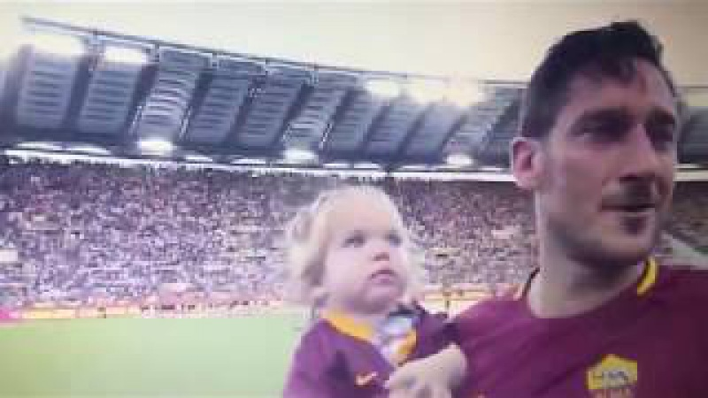 LEGEND! Francesco Totti final Farewell to The Fans - Goodbye Legend ! [28.05.2017] - AS ROMA