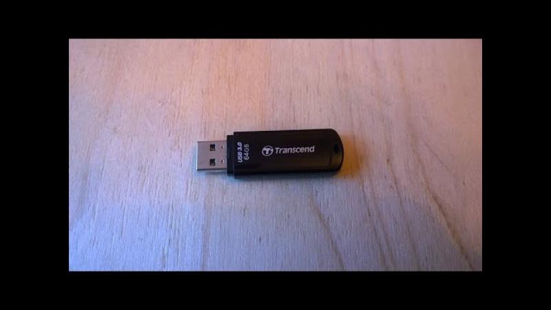 Как разобрать, отремонтировать, восстановить и прошить флешку Transcend JetFlash®700 USB 3 0 ...