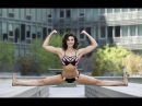 Bianca Bree daughter of Jean Claude Van Damme is a chip off the old martial arts block