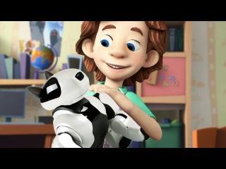 Фиксики новые серии - Робот собака, Зубная паста, Робот пылесос (Сборник мультико...