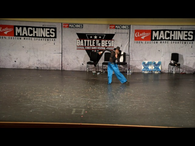 Princess Madoki (France) judge solo - Battle Of The Best 2016