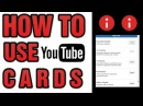 How to use cards in youtube videos (Educations City)