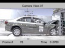 Crash Test 2009 Hyundai Sonata (Full Frontal Impact) NHTSA