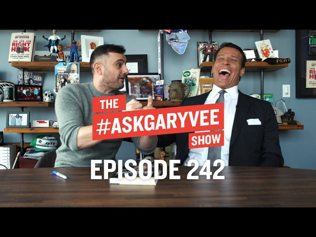 Tony Robbins, Unshakeable, Gratitude Focusing on Your Steak | AskGaryVee 242