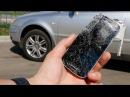 Раздавил машиной Samsung Galaxy S4 mini