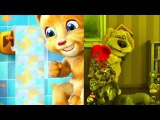 Johny Johny Yes Papa Nursery Rhyme by Talking Tom and Talking Ginger movies babies toddlers