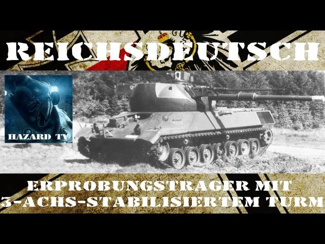 Leopard 1 с качающейся башней / Erprobungsträger mit 3-achs-stabilisiertem Turm