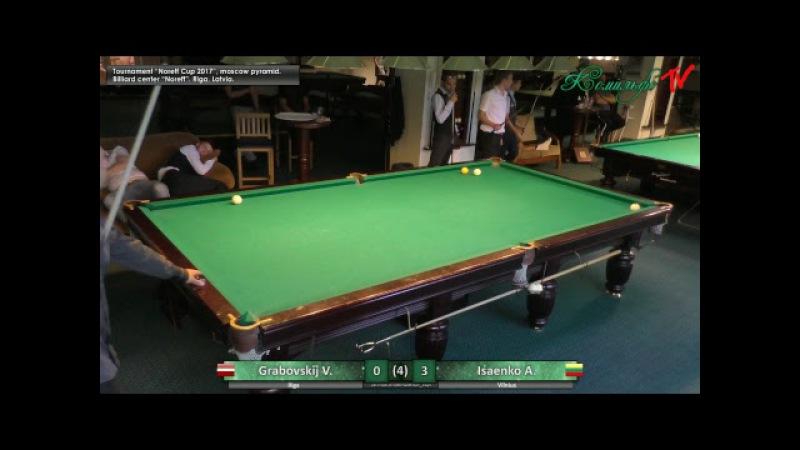 Tournament Noreff Cup 2017 Quaterfinal Grabovskij V Isaenko A
