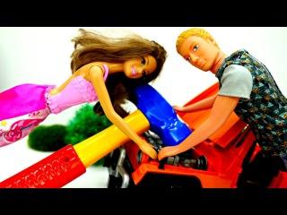 Игры для Девочек: КЕН чинит машину Терезы! #БАРБИ ревнует ? Мультик #Куклы Barbie / В...