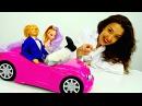 Игры БАРБИ Куклы устроили Девичник Барби 🎉 Кен сломал ногу! Лечим кукол / Видео...