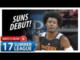Josh Jackson Full Suns Debut Highlights vs Kings (2017.07.07) Summer League - 18 Pts, 8 Reb